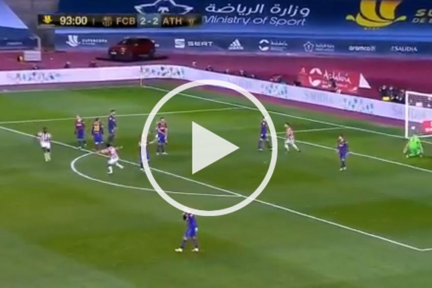 Supercopa Final: Watch Inaki Williams' Sensational Match-winning Goal For Athletic Bilbao Against Barcelona - VIDEO