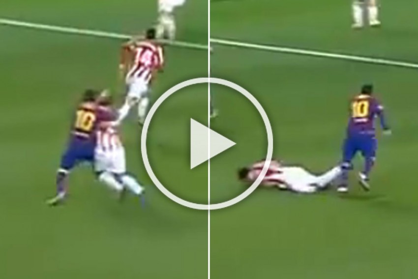 WATCH Lionel Messi Red Card: Barcelona Superstar Faces Ban After Supercopa Final Defeat Send Off
