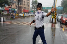Why This Traffic Cop In Indore Moonwalks To Manage Traffic In The City