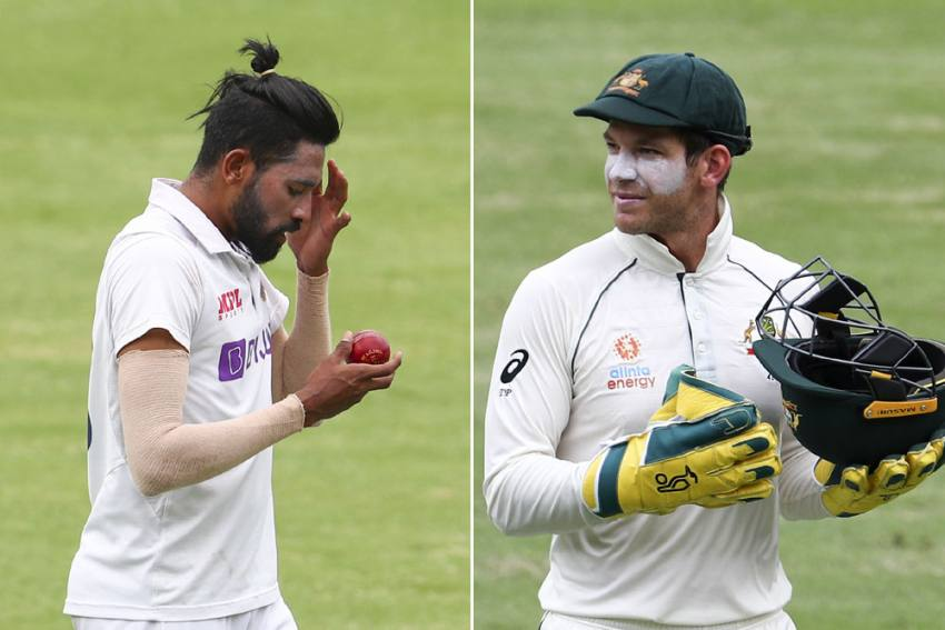 AUS Vs IND, Brisbane Test: Mohammed Siraj Celebrates, But All Eyes On Tim Paine
