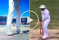 AUS Vs IND, Brisbane Test: Rohit Sharma Shows Steve Smith How To Shadow Bat, Sans Scuffing - WATCH