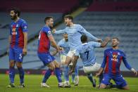 Manchester City 4-0 Crystal Palace: John Stones At The Double As Pep Guardiola's Men March Into Second