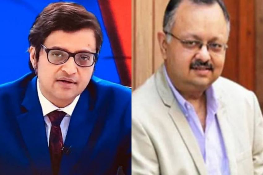 NCP Demands Panel To Probe Purported Chats Between Arnab Goswami, Partho Dasgupta