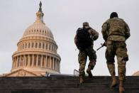 US Capitol Briefly Put Under Lockdown Over Fire 2 Days Before Biden Inauguration