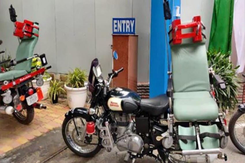 To Help Security Personnel During Emergencies, CRPF Gets 21 DRDO-Developed Bike Ambulances