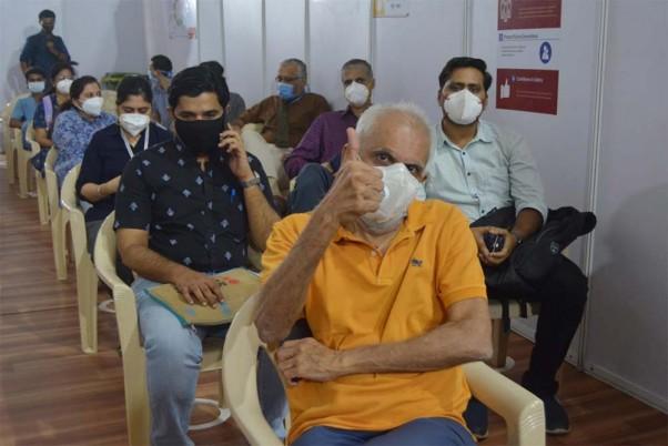 Covid Vaccination Drive In Delhi Continues On Day 2
