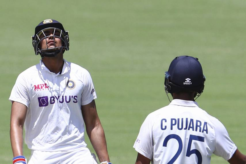 Shubhman Gill and Cheteshwar Pujara rebuilt the Indian innings in their contrasting styles