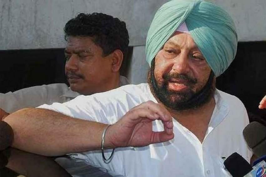 Poster Offers 10 Lakh Dollars For Killing Punjab CM Amarinder Singh, Case Registered