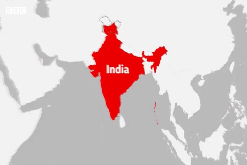 BBC Issues Apology For Displaying An Incomplete India Map Which Didn't Include J&K
