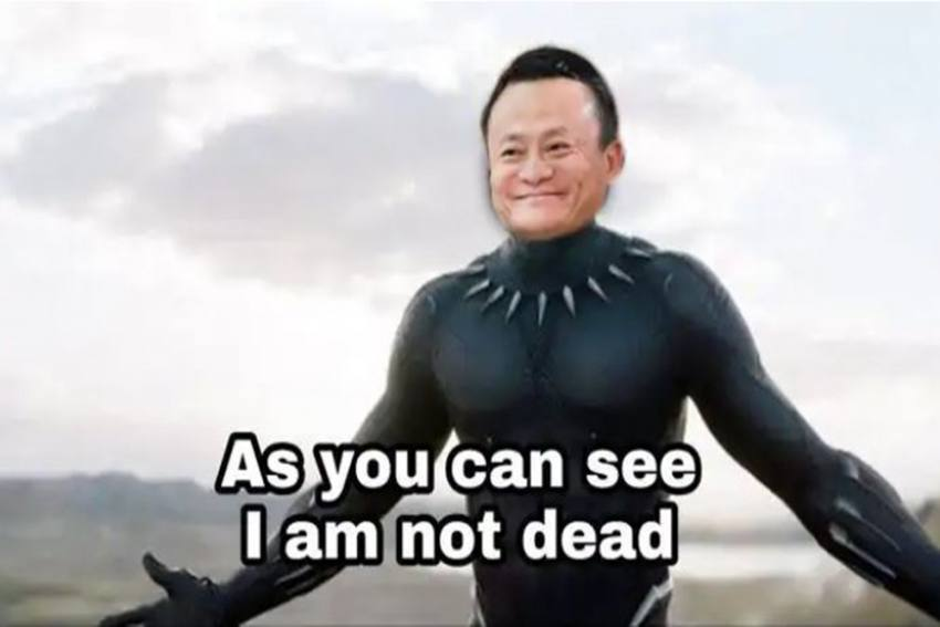 'Lost And Found': Memes Flood Twitter After Jack Ma Reappears In Public After Months