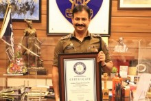 Meet IPS Officer Krishna Prakash, The Newest Entrant To World Book Of Records