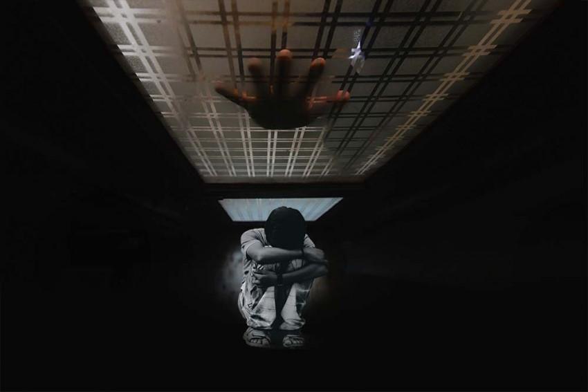 Dark Netted Child Trap