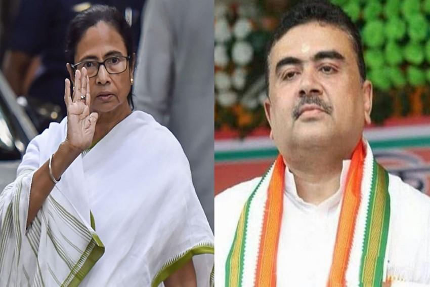 West Bengal Assembly Polls: Suvendu Adhikari Dares Mamata Banerjee To Contest From a Single Seat