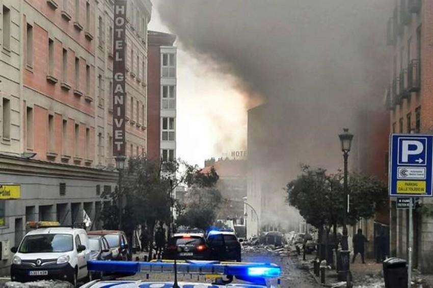 Madrid Blast Kills 2; Apparently Linked To Gas Leak: Mayor