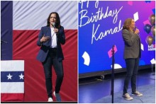 Kamala Harris Raises Style Quotient By Pairing Blazers And Sneakers