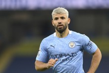 Manchester City Striker Sergio Aguero Confirms Positive Coronavirus