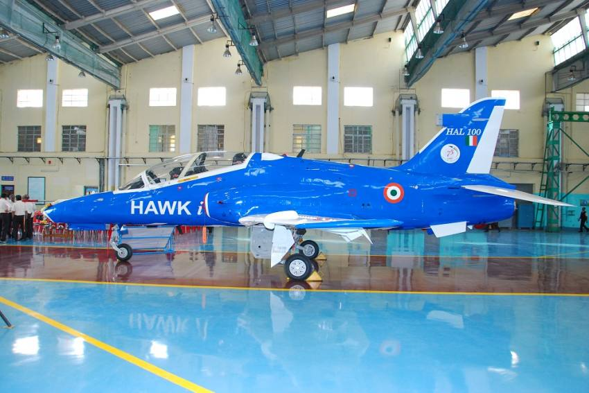 Hindustan Aeronatics Test-Fires First Anti-Airfield Weapon From Hawk-I Aircraft