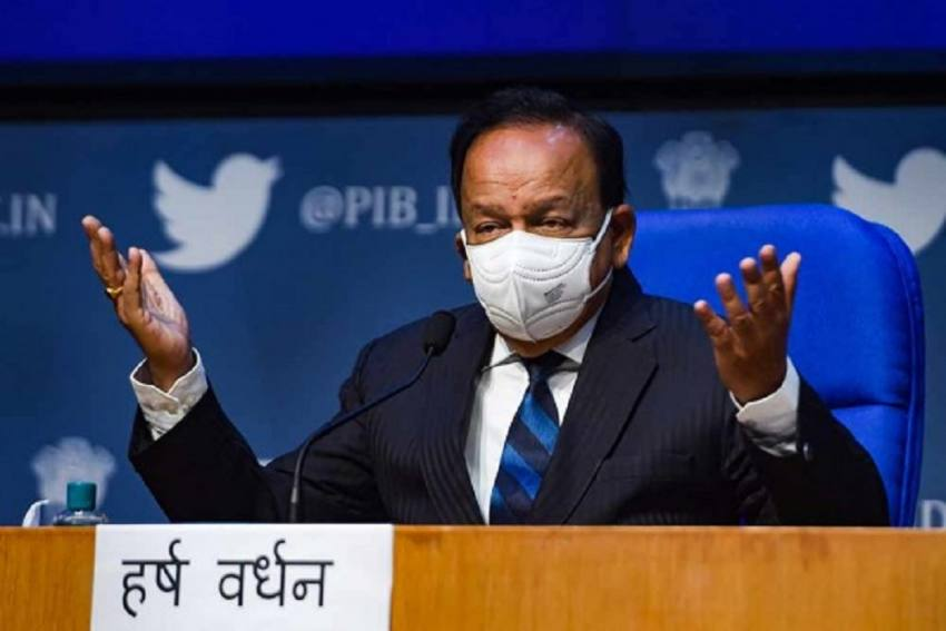 Let Us Stop These Falsehoods: Health Minister Vardhan Says Covid Vaccine Efficient, Safe