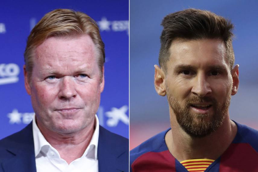 Lionel Messi To Psg If You Asked Me If I Want Neymar And Kylian Mbappe I D Say Yes Barcelona Boss Ronald Koeman