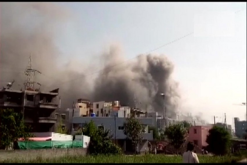 Another Fresh Fire Breaks Out In One Compartment Of Same Building At Serum Institute Of India
