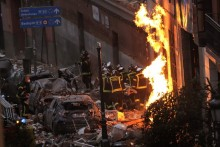 Gas Explosion In Madrid Kills 4, Leaves 11 Injured