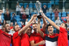 2020 Champs Serbia Vs Germany, Canada In ATP Cup Group Play