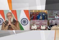 PM Modi Interacts Digitally With Covid Vaccine Beneficiaries In Varanasi