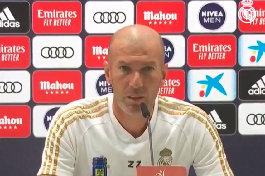 Real Madrid Boss Zinedine Zidane Tests Positive For COVID-19