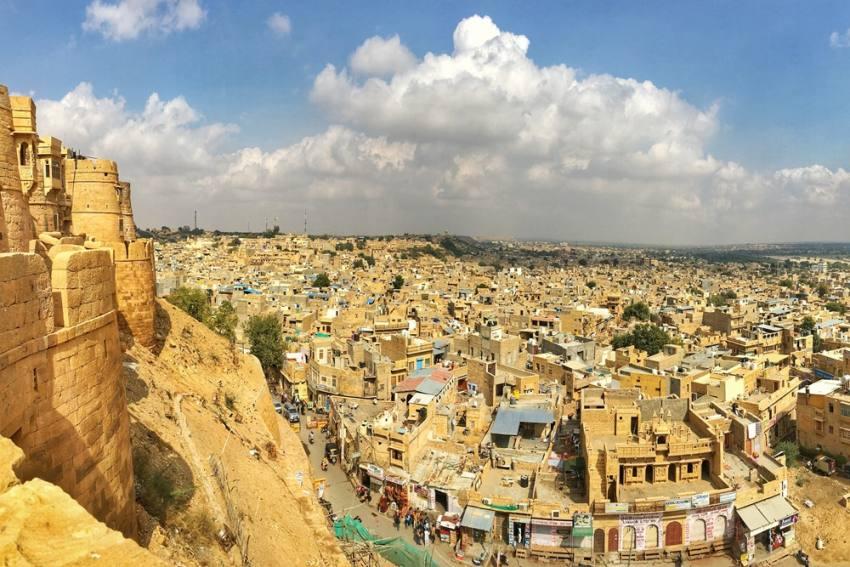Sudden Cancellation Of Jaisalmer Flight Lands Tourists In Trouble
