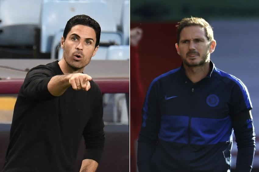 Mikel Arteta Calls On Chelsea To Keep Faith In Under-pressure Frank Lampard