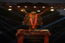 Shiv Sena Founder Bal Thackeray's Statue Unveiled In Mumbai