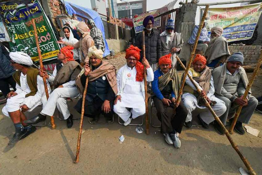 Farmer Leaders Capture Man, Allege Conspiracy To Kill Four Of Them, Disrupt Tractor Rally