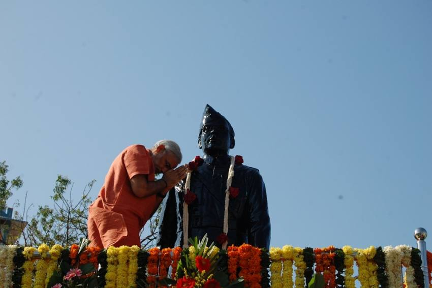 'True Son Of Mother India': PM Modi Pays Tributes To Subhas Chandra Bose On His Birth Anniversary