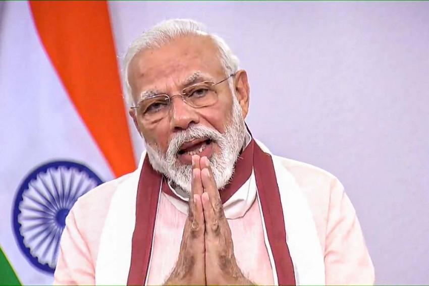 PM Modi Pays Tributes To Bal Thackeray On His Birth Anniversary