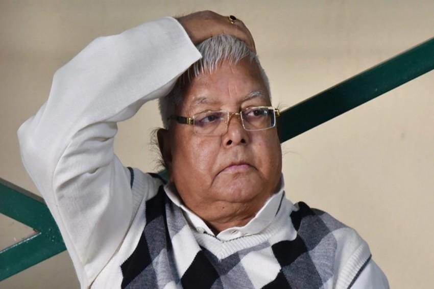 RLD Chief Lalu Prasad Yadav's Health Worsens, To Be Shifted To AIIMS