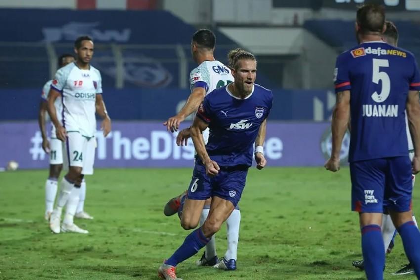 ISL 2020-21:  Bengaluru FC Score Late Equaliser To Hold Odisha FC To 1-1 Draw - Match 70 Report