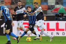 Udinese 0-0 Inter: Antonio Conte Sees Red As Goalless Draw Denies Nerazzurri Top Spot In Serie A