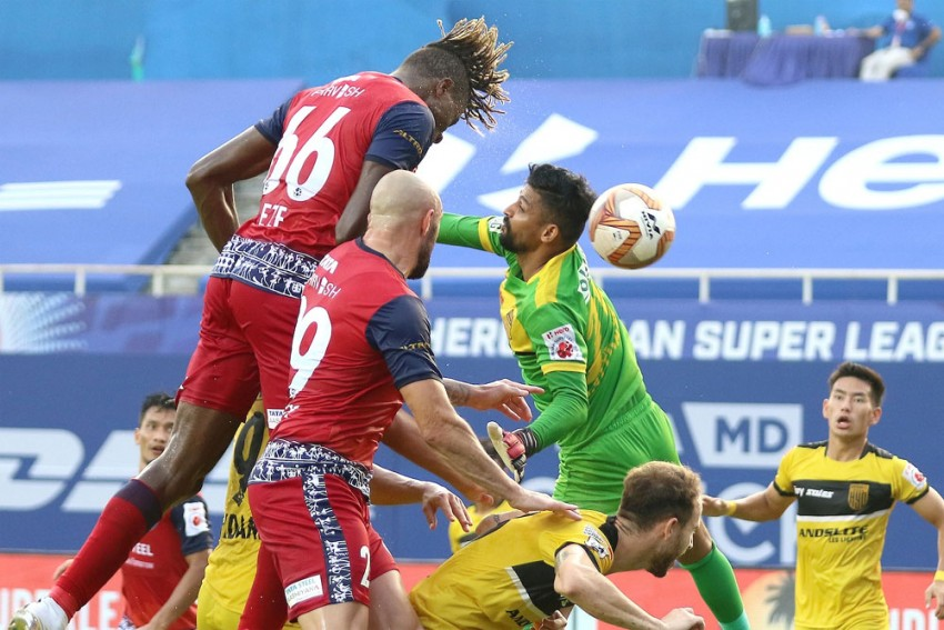 ISL 2020-21: Hyderabad FC, Jamshedpur FC Share Spoils After Goalless Draw - Match 69 Report
