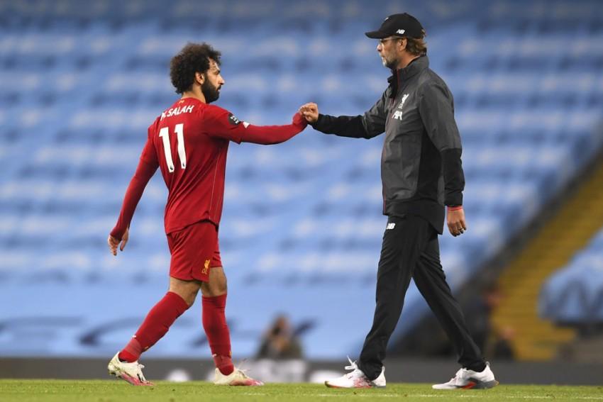 Mohamed Salah Contract Talk Not A Distraction – Liverpool Manager Jurgen Klopp