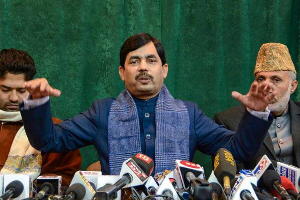 I Had No Idea This Assignment Was Coming My Way: Shahnawaz Hussain On Bihar MLC Seat