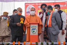 UP Statehood Day: CM Announces Free Coaching Facility For Students; Likens Covid-19 Jab To 'Sanjeevani Booti'