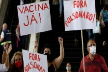 In Brazil, Call To Impeach President Bolsonaro Grow Louder; Thousands Take To Streets
