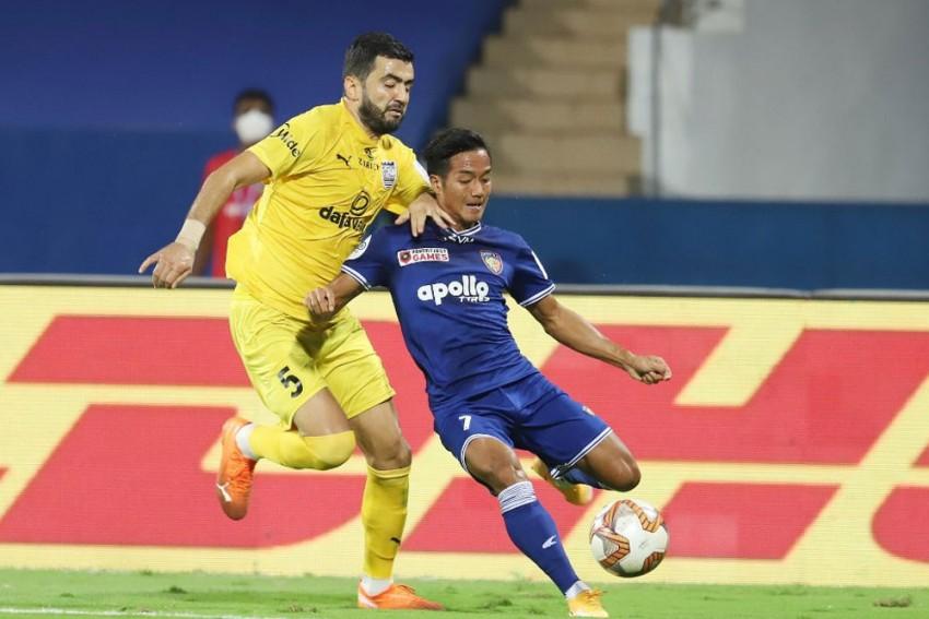 ISL 2020-21: Mumbai City Blunder Helps Chennaiyin FC Take Crucial Point - Match 71 Report