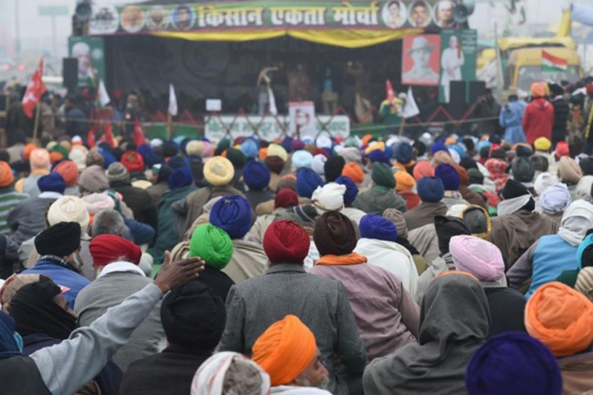 Protesting Farmers To March To Parliament On Budget Day