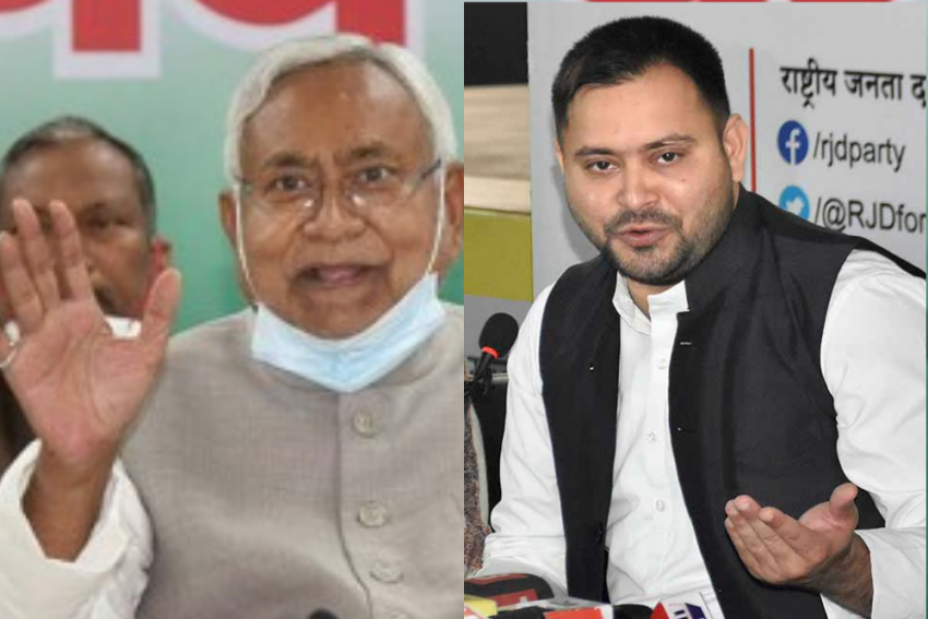 Tejashwi Yadav Hits Out At Nitish Kumar Over Mysterious Murder Of Government Official In Patna