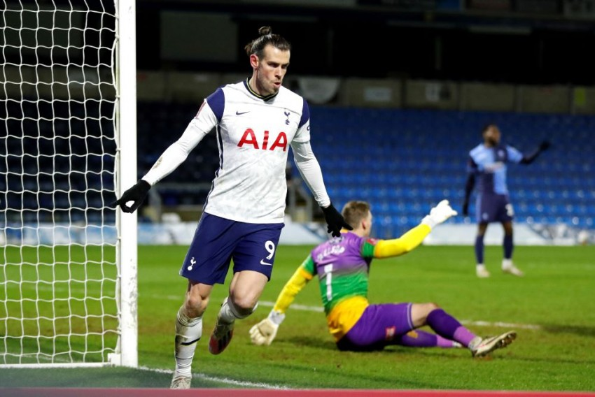 Gareth Bale Scores As Tottenham Beat Wycombe Wanderers 4-1 In FA Cup