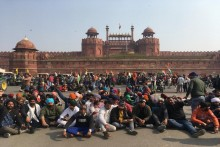Tractor Rally: Protesting Farmers Reach Red Fort; Tear Gas Used By Police In Other Places