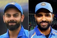 ICC ODI Rankings: Virat Kohli, Rohit Sharma Remain Number 1 And 2