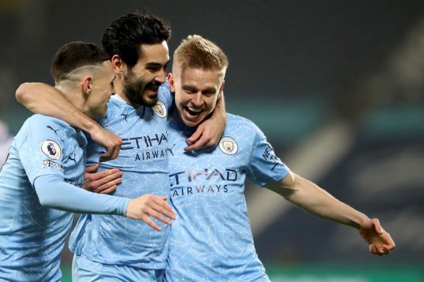West Brom 0-5 Manchester City: Ilkay Gundogan Guides Pep Guardiola's Side To Premier League Top Spot