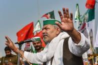 Tractor Rally: Antisocial Elements Behind Violence, Says Farmer Leader Rakesh Tikait